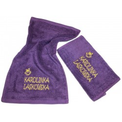 Ręcznik dla Dziecka z Imieniem i Nazwiskiem